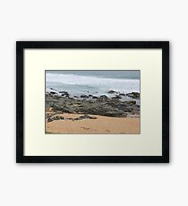 It was love at first sight... the day I met The Beach Framed Print