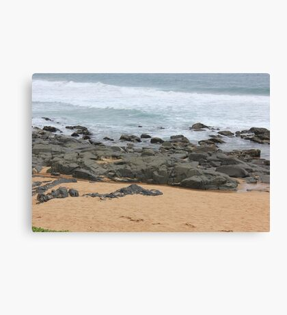 It was love at first sight... the day I met The Beach Canvas Print