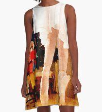 Clara and the Nutcracker A-Line Dress
