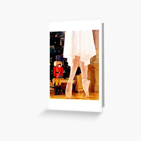 Clara and the Nutcracker Greeting Card