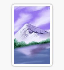 Purple Mountain Sticker