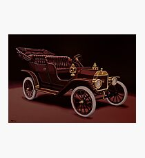 Ford Model T Touring 1908 Painting Photographic Print