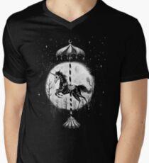 Gothic Unicorn  V-Neck T-Shirt