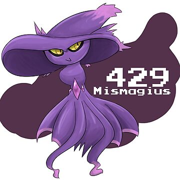 Pokemon #429: Mismagius by MichelleRakar