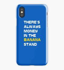Money In Banana Stand iPhone Case/Skin