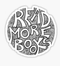 Read More Books Sticker