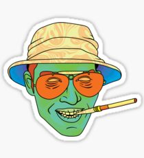 Duke (Fear and Loathing in Las Vegas) Sticker