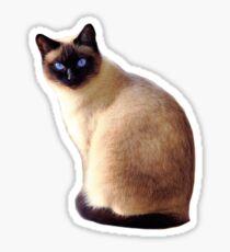 Siamesische Katze Sticker
