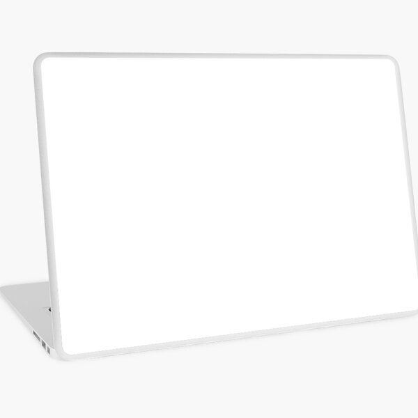 PURE WHITE   SOLID Laptop Skin
