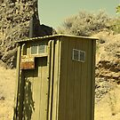 this outhouse by Amanda Huggins