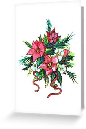 Christmas Flowers by Linda Callaghan