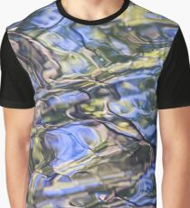 Natural Watercolor- Impressionistic Nature Abstract 2 Graphic T-Shirt
