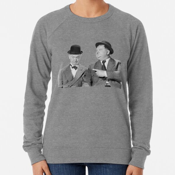 Laurel and Hardy Lightweight Sweatshirt
