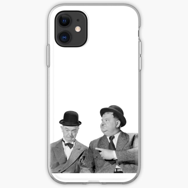 Laurel and Hardy iPhone Soft Case