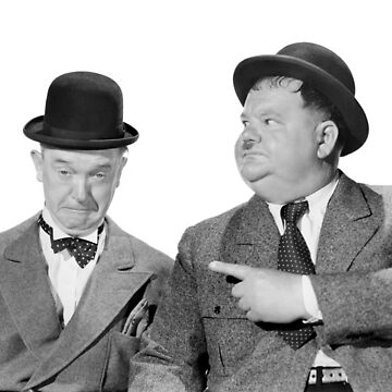 Laurel and Hardy by nickwoods