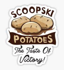Scoopski Potatoes Impractical Jokers Sticker