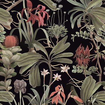 State Library Victoria Dark Botanical Stravaganza by ikerpazstudio