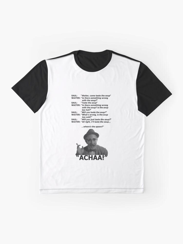 Alternative Ansicht von Nach Amerika kommen - Die Suppe schmecken (Saul) Grafik T-Shirt