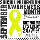 September Suicide Prevention Awareness Month by Nisa Katz