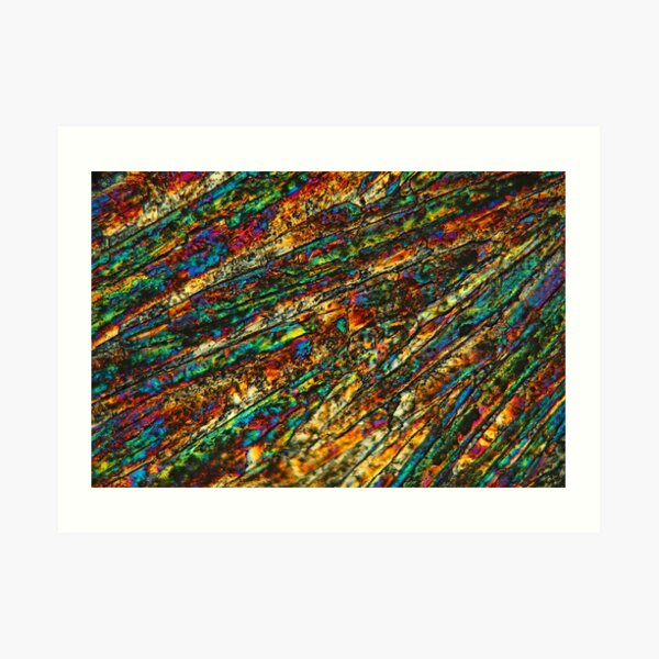 Copper Sulfate Art Print