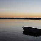 Sunset on Golden Beach Queensland by Jodie Elchah