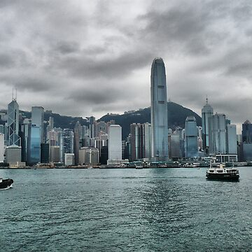 Hong Kong Harbour by agurney