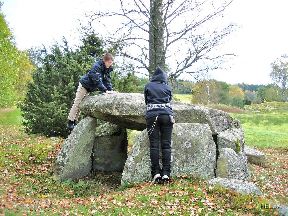 Studying Archeology at Massleberg Bohuslän by HELUA