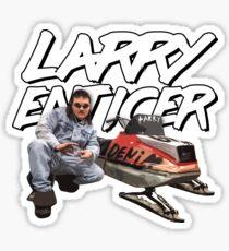 LARRY ENTICER Sticker