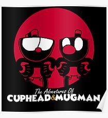 The Adventures of Cuphead and Mugman Poster