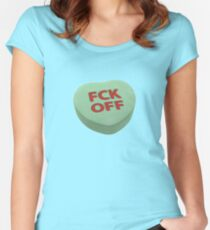FCK Off Women's Fitted Scoop T-Shirt