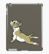 Boston Bull Terrier Puppy Tan Beige  iPad Case/Skin