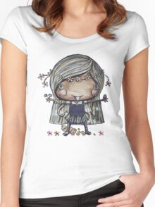 Nature Girl a la Naturale Women's Fitted Scoop T-Shirt