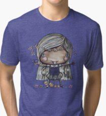 Nature Girl a la Naturale Tri-blend T-Shirt