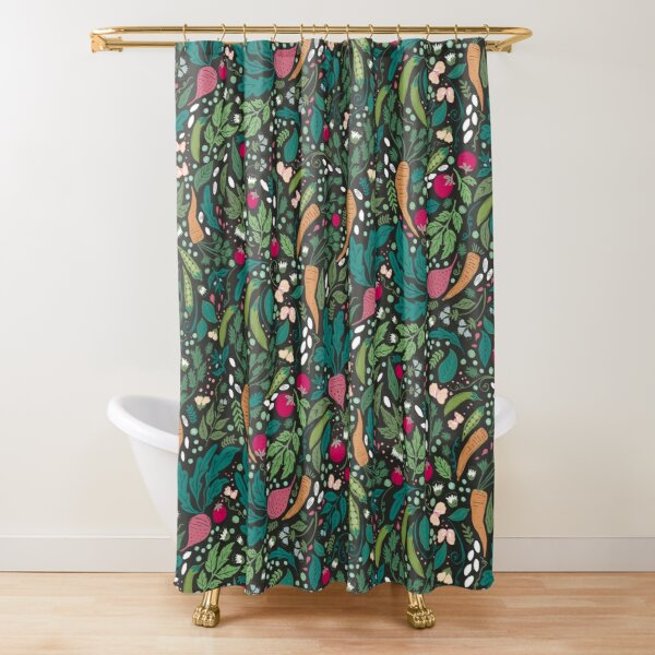 Farm to Table Shower Curtain