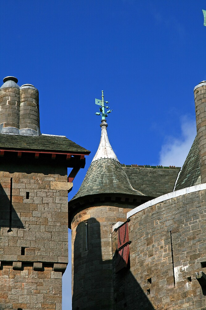 The Well Tower at Castell Coch by DRWilliams