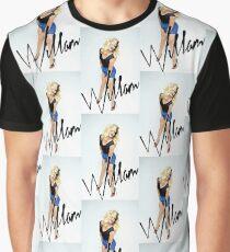 WILLAM BLUE Graphic T-Shirt