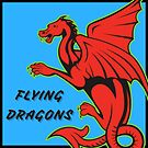 Flying Dragons Logo by pictrola
