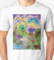 Slime Rancher All Slimes Collection T-Shirt