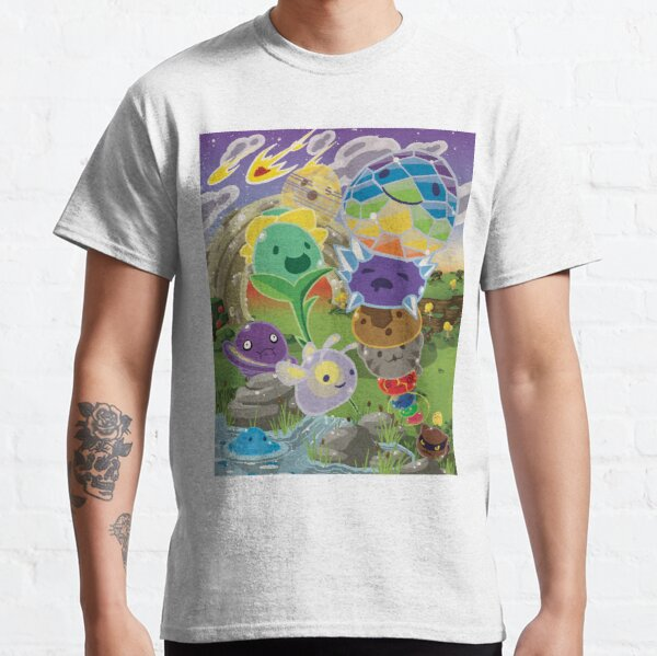Slime Rancher All Slimes Collection Classic T-Shirt