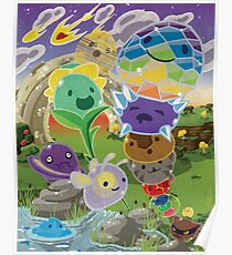 Slime Rancher All Slimes Collection Poster