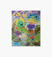 Slime Rancher All Slimes Collection Art Board