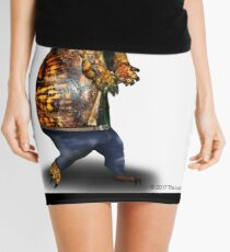 Skinny Jeans - Bros don't let bros wear ho's clothes Mini Skirt