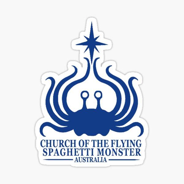 Flying Spaghetti Monster Australia Sticker