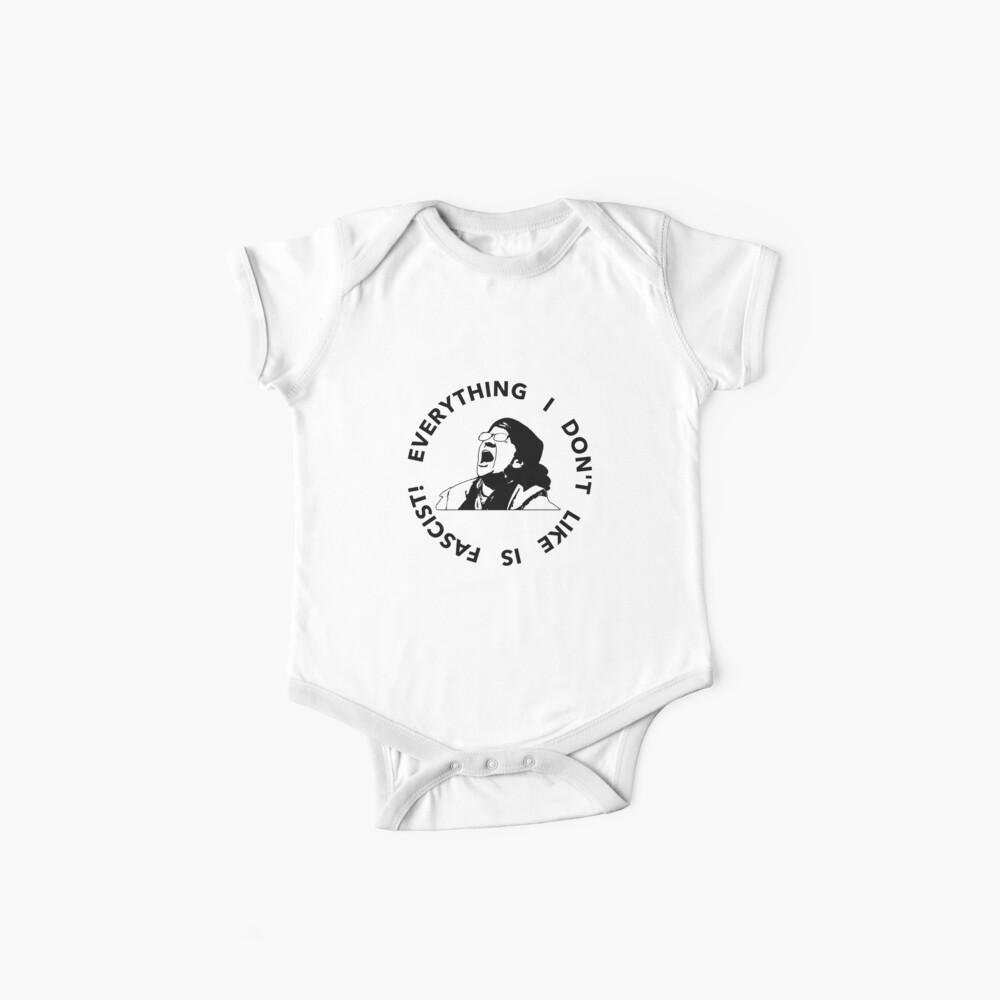 Militanter Schneeflocke-Kampf-Schrei Baby Bodys
