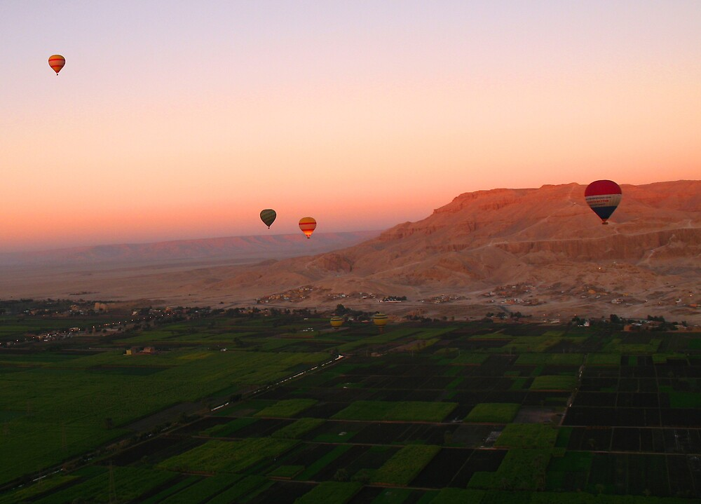 Balloons at Dawn by Chris Steele