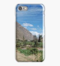 this valley is sacred iPhone Case/Skin