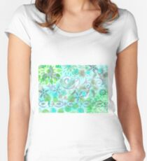 Layer Upon Layer # 3 Women's Fitted Scoop T-Shirt