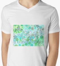 Layer Upon Layer # 3 Men's V-Neck T-Shirt
