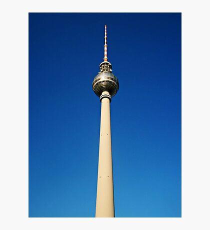 Fensehturm am Alexander Platz Photographic Print