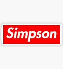 Simpson Sticker